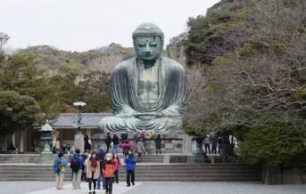 Velký Buddha - Kamakura