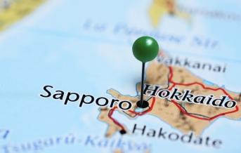 Sapporo mapa