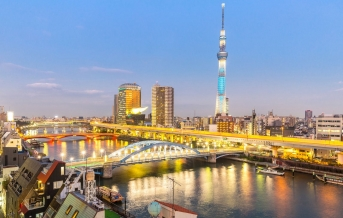 Tokio, mosty