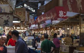 Tokio, Cukidži - největší rybí trh na světě