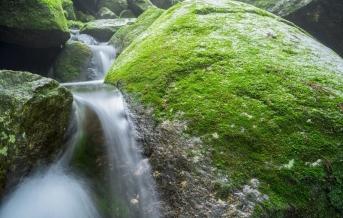 Jakušima, vodopád