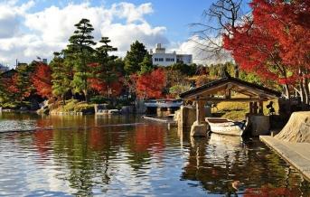 Blízké zahrady Tokugawa-en, Nagoja