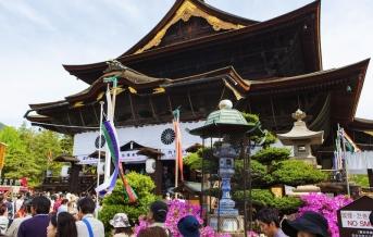Chrám Zenkódži - Nagano