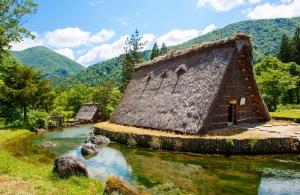 Japonsko, Širakawa gó