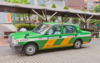 Jak cestovat Japonskem, taxi