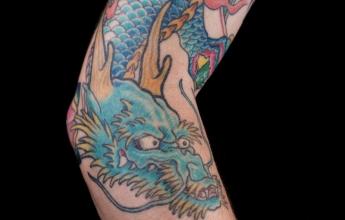 Japonské vzory na tetování členů jakuzy