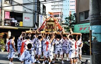 Slavnosti Macuri, Japonsko