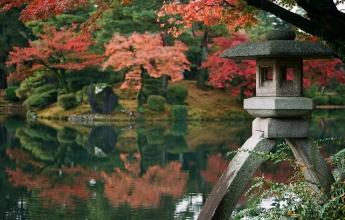 Japonsko, podzim