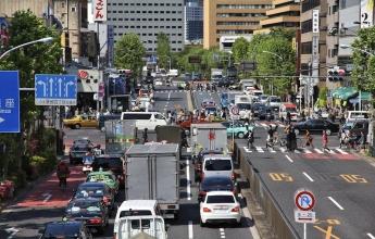 Řízení vozu v Japonsku