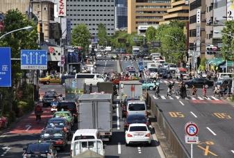 V Japonsku se jezdí vlevo