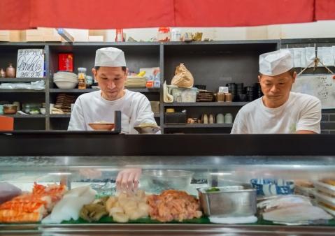 Japonsko, Osaka suši příprava