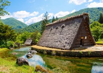 Širakawa-go, Japonsko