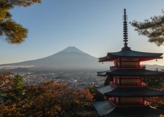 Arakura Sengen Fuji Fudži Chureito