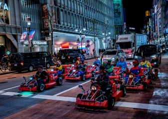 go kart motokáry Tokio
