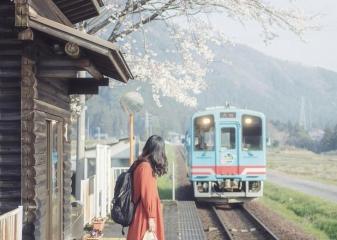 vlak Japonsko