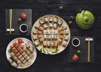 sushi, Japonsko