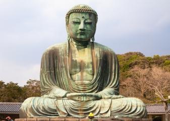 Socha Buddhy v Kamakuře