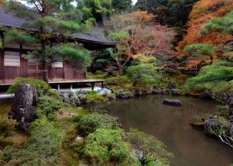 Zahrady v Tokiu