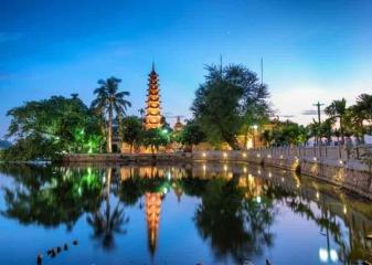 Hanoj, pagoda, Vietnam