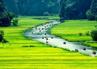 Ninh Binh, příroda, Vietnam