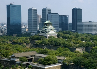 Osaka, Kjóto, Japonsko