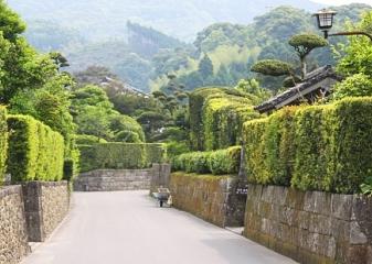 Chiran, ulice samurajů