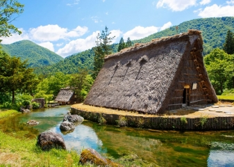 Širakawa-go, vesnice UNESCO