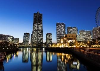 Japonsko, Jokohama, Minato Mirai 21