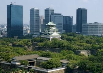 Osaka, osacký hrad