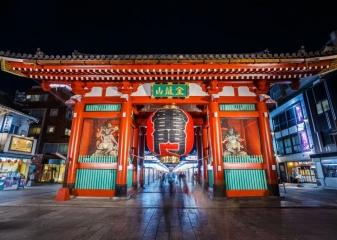 Brána hromu, Tokio