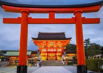 Fushimi Inari, Kjóto, Japonsko
