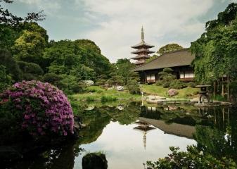 Zahrada Sensódži, Japonsko