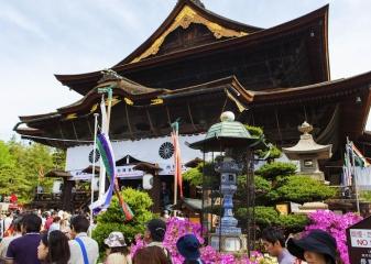 Chrám Zenkoji, Nagano