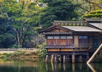 Čajový domek Učihaši-tei, Kanazawa