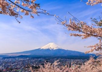 Hora Fudži, Japonsko