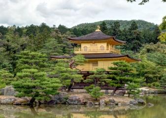 Zlatý pavilon, Kjóto