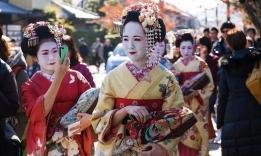 Japonské gejši, Japonsko