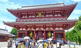 Asakusa, Tokio, Japonsko