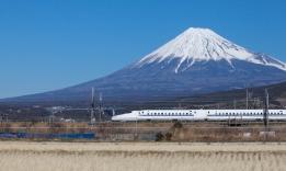 šinkansenem k Fuji