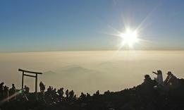 výstup a úsvit na Fuji
