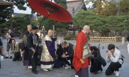 Zenkoji rituál Nagano Oasadži