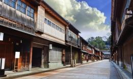 Kanazawa, peší zóna
