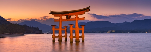Plovoucí brána torí, Mijadžima