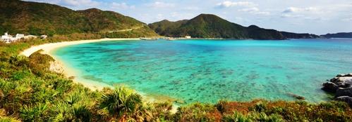 Zájezd exotické Japonsko, pláž Okinawa