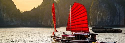 Halong Bay-Zájezd Japonsko a pláže středního Vietnamu