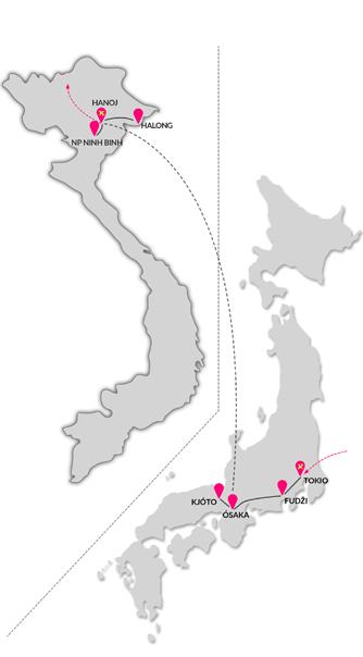 Zájezd Japonsko a krásy severního Vietnamu